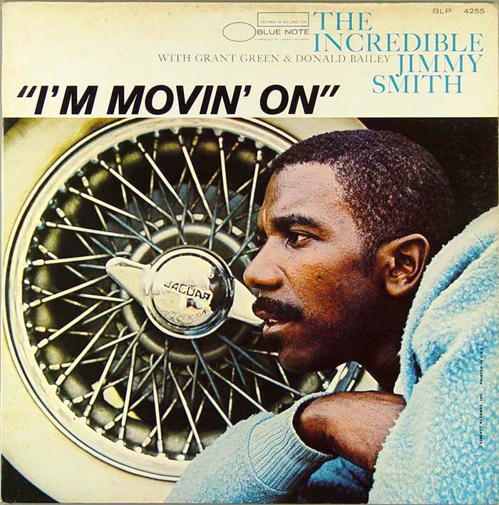 jimmy smith - i'm movin' on (sleeve art)