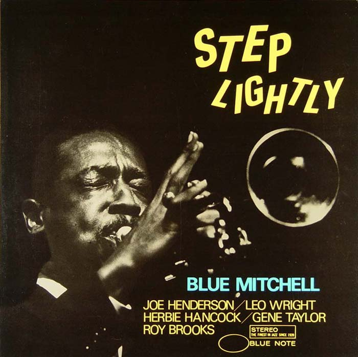 blue mitchell - step lightly (album art)