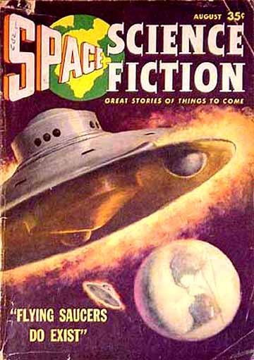 Space Science Fiction, August 1957