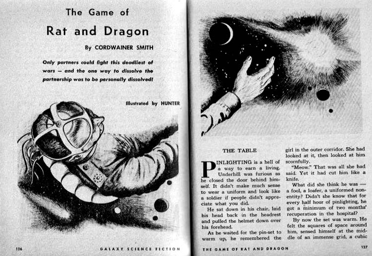the game of rat and dragon smith cordwainer